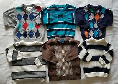 Boys 12 Months Sweaters Fall Winter Clothing Lot