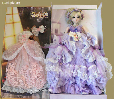 1/3 vinyl bjd 60cm whole set Kilig doll 3 with outfits shoes wig stand free gift