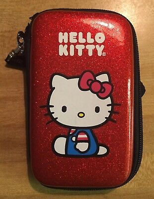 Hello Kitty Zippered Phone Case And Wallet Mini Purse Pouch