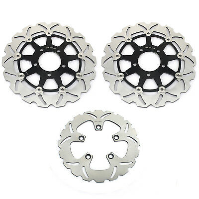 Front Rear Brake Discs Rotors for SUZUKI GSF650 Bandit S ABS 05 06 GSX750F 04-06