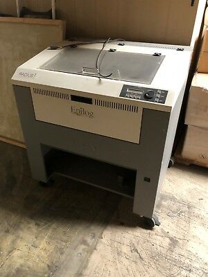EPILOG 25 watt laser engraver 18x24 table size in a good used condition