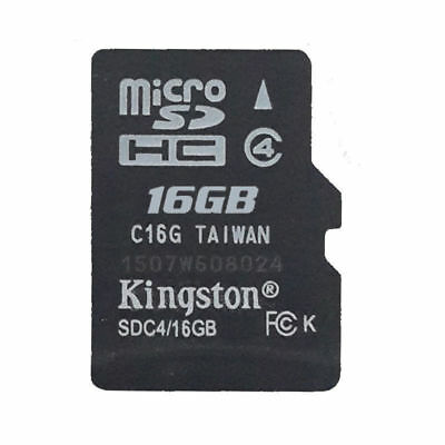 16B/Genuine Kingston Micro SD SDHC TF Flash C4 Memory Card f Phone