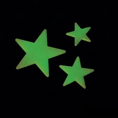 Glow in the Dark Stars Room Party Decorations