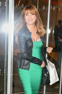 GLOSSY PHOTO PICTURE 8x10 Jane Seymour With Green Suit
