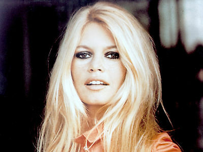 GLOSSY PHOTO PICTURE 8x10 Brigitte Bardot Showing Teeth