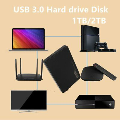 "AU STOCK ! 1 TB 2TB 2.5"" USB 3.0 Portable External Digital Hard Drive HDD Lot LK"