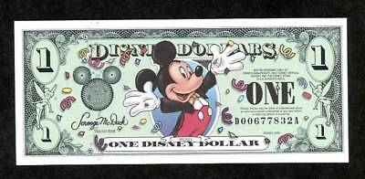 Disney Dollars, 2000D, Uncirculated, The 13Th Year