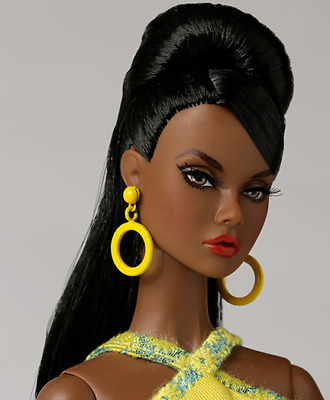 """Integrity Fashion Royalty Poppy Parker Luxe Life """"Lemon Frost"""" Nude Doll, New"""