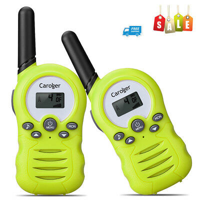 CR388A Kids Walkie Talkies Radios 22 Channels Outdoor Game Toy Battery Powered