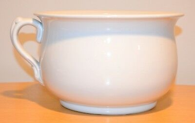 Antique ALFRED MEAKIN English Ironstone China Chamber Pot (White)