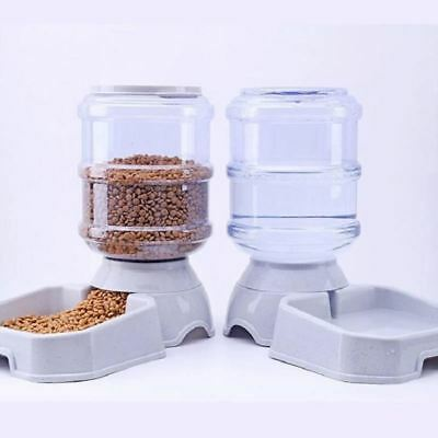 3.8L Plastic Pet drinkers cat dog automatic feeder drinking animal pet bowl wate