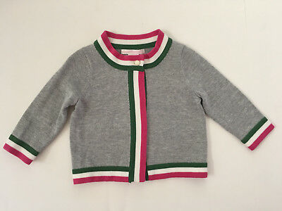 6f6931515c42 JANIE AND JACK Pink Sweater Cardigan Baby Tiny Lamb Infant Toddler 6 ...