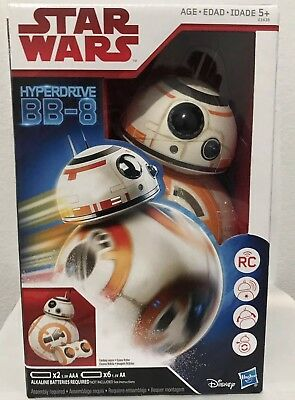 Star Wars HYPERDRIVE BB-8 Remote Control RC Toy Hasbro Disney The Last Jedi