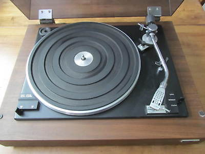 Vintage  Hitachi Ps-12 Turntable- Belt Drive -Auto Player  With Shure Cartridge