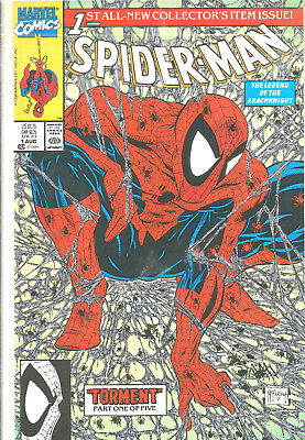 Spider-Man #1 (Collector's Item Issue) (Torment) Marvel Comics – 1990