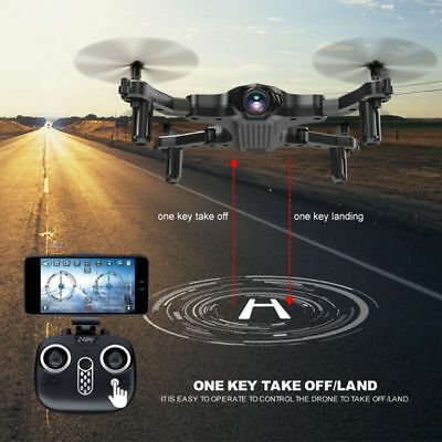 Folding Fixed High RC Drone Remote Aircraft Control WIFI Camera Quadcopter