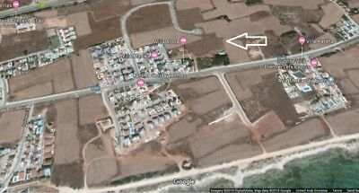 Land for sale 6065 sqm with permission 10 villas - Borders Ayia Napa Sea view