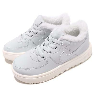new product 46e16 a5ea7 Nike Force 1 18 SE TD Pure Platinum Sail Toddler Infant Baby Shoes AR1134 -001