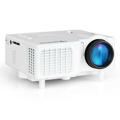 "Portable Projector Mini Led Home Theater Cinema Av Vga 17"" - 60"" Laptop Beamer"
