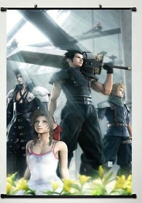 "Final Fantasy VII ""Crisis Core"" WallScroll Poster, New"