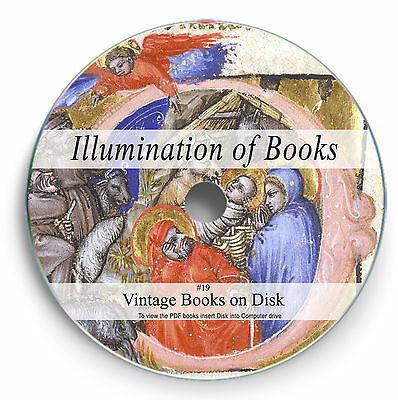 Books Illumination on DVD Illuminated Manuscripts Calligraphy Nib Art Set Ink 19