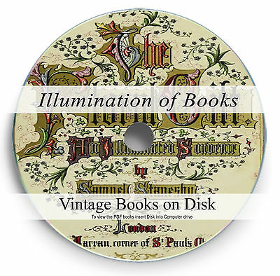 Rare Illumination of Books DVD Illuminated Manuscript Art Letter Calligraphy 283