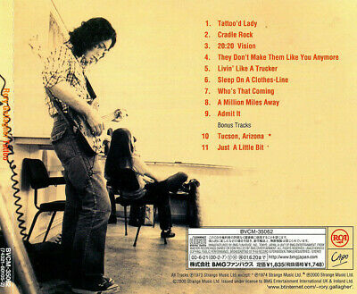 RORY GALLAGHER Tattoo JAPAN CD BVCM-35062 2000 OBI