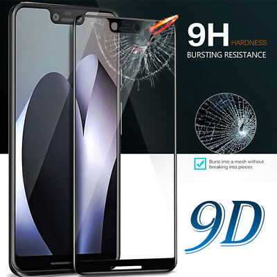 For Google Pixel 3 XL / Pixel 3 Tempered Glass Film Screen Protector 9D Coverage