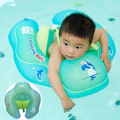 Relaxing Baby Kids Swimming Ring Inflatabl Adjustable Baby Swimming Oxter Rings