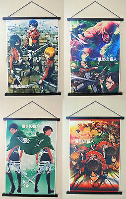 ATTACK ON TITAN WALLSCROLL STOFFPOSTER 35 x 52 CM