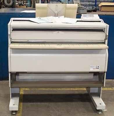Ricoh FW740 Copier to Plan Printer A0 - Working