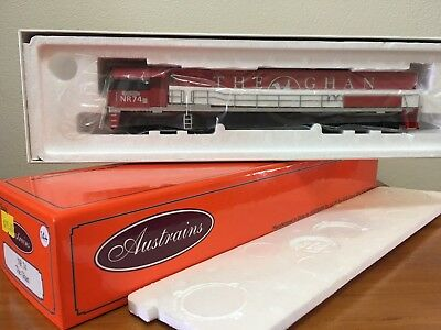 Austrains Nr 74 The Ghan New In Box Suit Auscision Southern Rail Sds