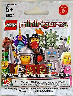 LEGO Minifigure Series 6 RANDOM BLIND MYSTERY Roman? Liberty! RARE New & SEALED