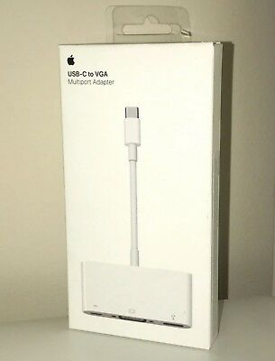 Apple USB-C to VGA Multiport Adapter MJ1L2ZM/A - New Sealed