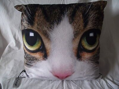 COUSSIN - Motif  Tête CHAT EUROPEEN