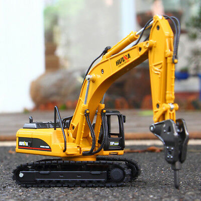 1:50 Alloy Kids Mini Excavator Digger Construction Vehicle Truck Model toy Car