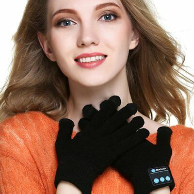 Wireless Bluetooth Gloves Touch Screen Warmer Winter Gloves with Hands Call Talk