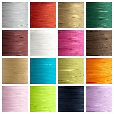 7mm Paper Raffia Tying Ribbon Favour Decoration Wrapping Crafts Various Lengths