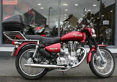 Royal Enfield Bullet 500 Electra at Teasdale Motorcycles, Yorkshire