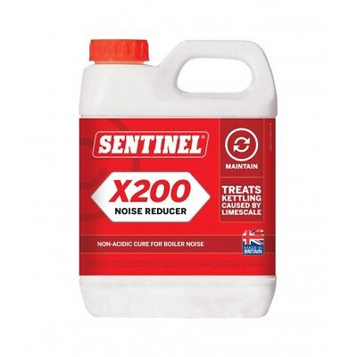 SENTINEL X200 1L Noise Reducer Non-Acidic Treatment to Cure Boiler Noise