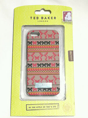 f8910c100 NEW Ted Baker hard case for iPhone 5 5s SE CLEARANCE 7 patterns First