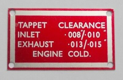 Rover P6 Tappet Clearance Plate