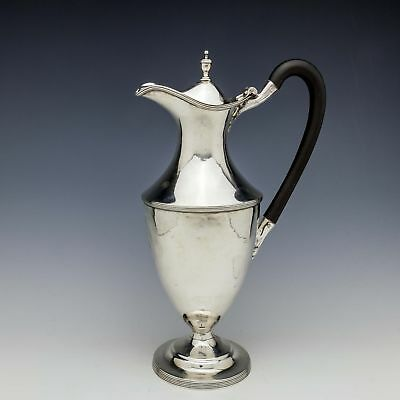 George III Sterling Silver Claret Jug London 1789