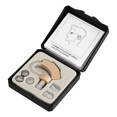 Cyber Sonic Hearing Aid Sound Voice Amplifier Behind Ear Hard Enhancer
