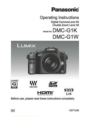 ~PRINTED~Panasonic LX100 User guide Instruction manual A4 or A5 COLOUR