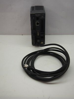 Keyence CV-2100 Digital Machine Vision System Controller With Camera Cable