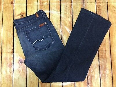 7 for all Mankind Jeans Women's Size 33 X 31 Jeans Bootcut