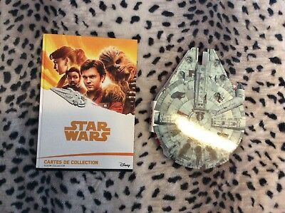 LOT Star Wars album Leclerc Complet + micropopzs star wars complet