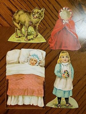 Lion Coffee Trading Cards Little Red Riding Hood