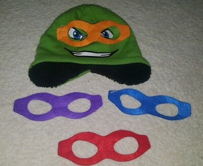 PRE-OWNED Boy George Teenage Mutant Ninja Turtles All In One Size 7-8 Year TH207